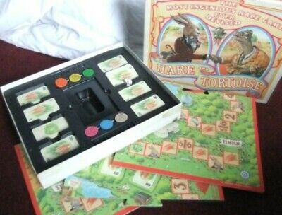 Vintage Board Game 'Hare And The Tortoise' • 7£