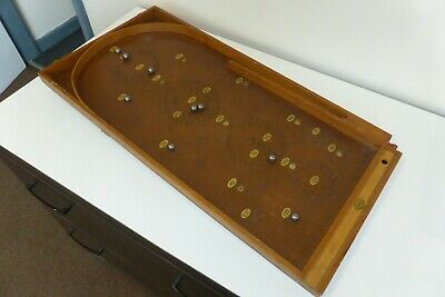 Traditional Wooden Bagatelle Game - Chad Valley • 39£