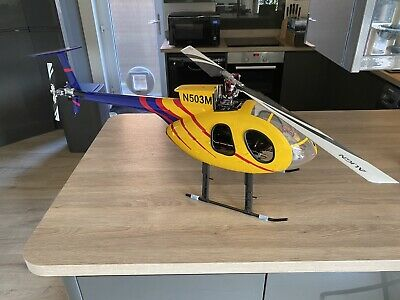 Align TRex 500x With MD 500e Fuselage  • 320£