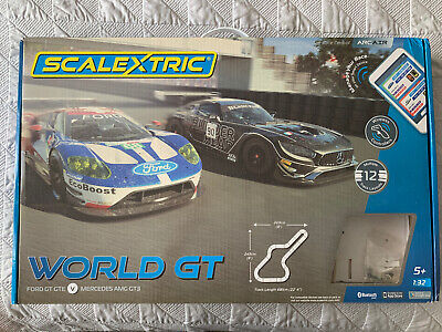 Scalextric C1403 World Gt Set In Mint Brand New Condition (without Cars)  • 50£