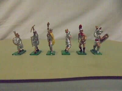 Crescent Toy Soldiers - 6 X ROMANS - FULL SET- EXCELLENT To MINT Condition • 34.99£
