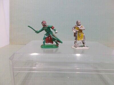 Cherilea- 54mm ROBIN HOOD SERIES - THE SHERIFF & MAN AT ARMS - V/G.USED-RARE • 15.99£