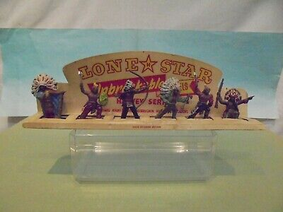 Lone Star-HARVEY SERIES-6 PIECE INDIAN CARDED SET V/G To EXC. On EXC.CARD - RARE • 59.99£
