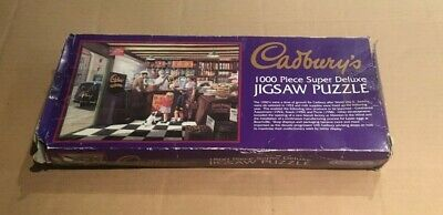 GIBSONS Cadbury's Vintage Jigsaw Puzzle 1000pc COMPLETE • 6.99£