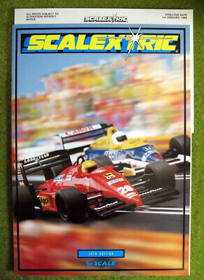 SCALEXTRIC Catalogue 30th Edition 1989 - Complete With Price List - UNUSED • 1.99£
