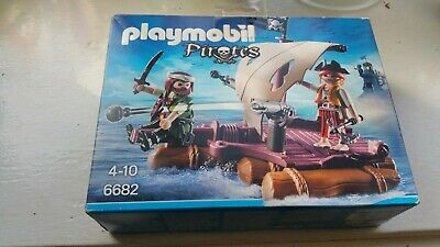 Playmobil Pirates Floating Pirate Raft 6682 - NEW & SEALED • 22.99£