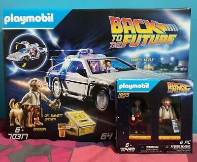 Back To The Future Playmobil Set • 89.99£
