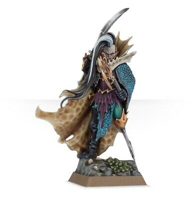 Age Of Sigmar Cities Anvilgard Aelves Dark Elf Black Ark Fleetmaster Warhammer • 9.99£