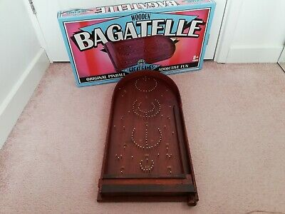 Vintage Bagatelle Traditional Table Top Game House Of Marbles British Made Boxed • 49.99£