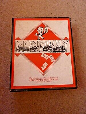 Vintage Board Game Monopoly By Waddingtons • 5£