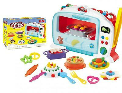 Toy Microwave Oven Simulation Home Appliance With Play Dough • 15.95£