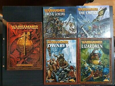 Warhammer Fantasy Battle Armies Army Books 6th Edition Books • 30£