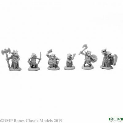 Reaper Miniatures Bones - 77653 : Kobold Leaders • 6.89£