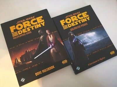 Star Wars Force And Destiny RPG +Unlimited Power • 99£