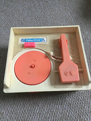 Fisher Price Vintage Record Player W/ 4x Records • 0.99£