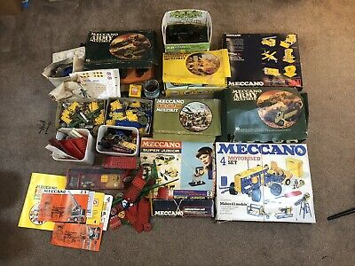 Huge Collection Job Lot Of Vintage Meccano Approx 25kg  • 495£