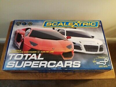 SCALEXTRIC   TOTAL SUPERCARS Set • 25£