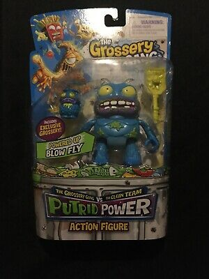 Grossery Gang  Series One Putrid Power Action Figure: Powered Up BLOW FLY • 12.99£