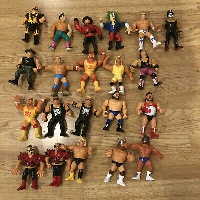 WWF/WWE Vintage Hasbro Action Figures Damaged Lot Please Read • 21£