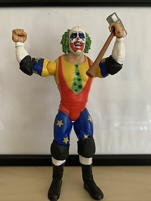 Wwe Doink The Clown Jakks Wrestling Figure Classic Superstars Series 6 Wwf • 5£