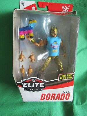 WWE LINCE DORADO MASK MATTEL Elite Series 74 Wrestling Action Figure • 25£