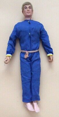 Vintage Retro Action Man Figure Palitoy With Flocked Hair • 40£