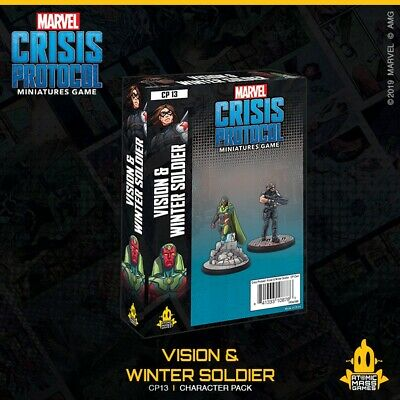 Marvel Crisis Protocol Vision And Winter Soldier • 34.90£