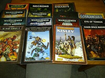 Games Workshop/Warhammer Books And Codex's Job Lot. Fantasy Game Books. • 40£