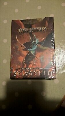 Age Of Sigmar Warscroll Cards: Sylvaneth (ENG) New  • 19.99£