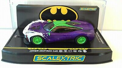 Scalextric Joker Inspired Car C4142 Mint Boxed Bn New Release • 35.99£