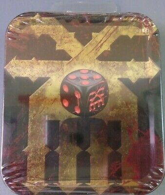 Unreleased Games Workshop Warhammer The End Times Chaos Dice Khorne Tin BNIB New • 16.99£