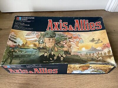 Axis & Allies Board Game Complete • 28.95£