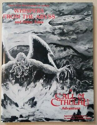 Call Of Cthulhu RPG Whisperers From The Abyss Adventure Module By Chaosium • 9.50£