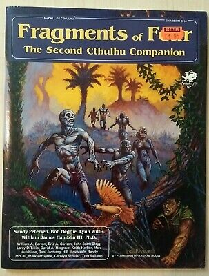 Call Of Cthulhu RPG Fragments Of Fear Campaign Module By Chaosium • 5£