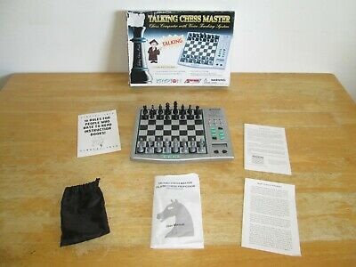 Krypton Systema Talking Chess Master Set Voice Teaching Computer 1000 Levels • 19.99£