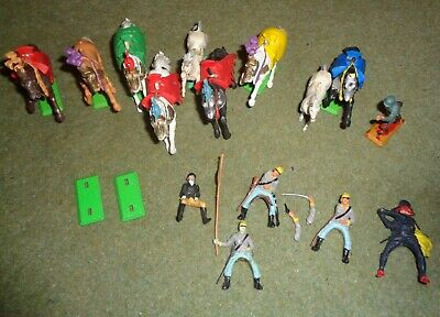 Vintage Britains Deetail Collection Of Horses, Soldiers Etc. ~ Free Uk P&p • 7.99£