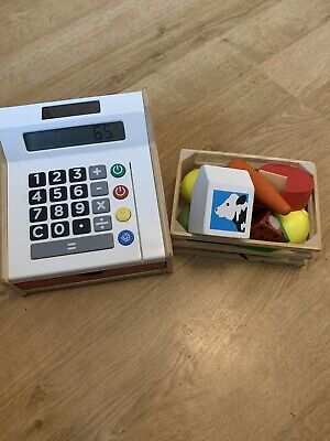 Ikea Cash Till With Wooden  Food • 16.99£
