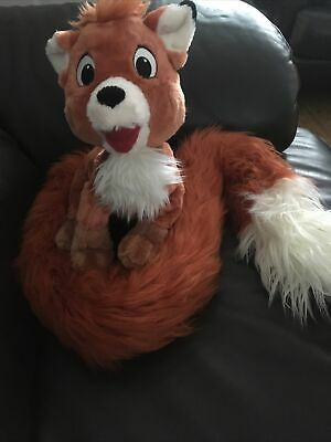 Disney The Fox And The Hound Tod Plush Soft Toy New • 4.10£