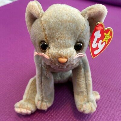 TY Beanie Babies -  Scat The Cat 🐱 • 6.99£
