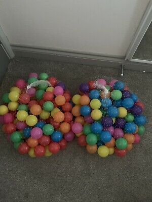 Colourful Ball Pit Balls For Children's Ball Pit 2x 100 • 6£