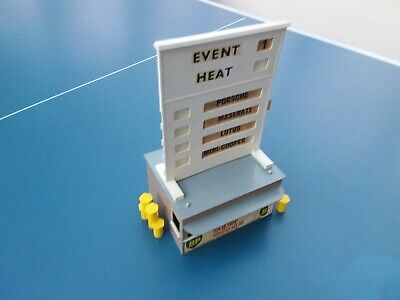 Scalextric Airfix Event Board And Hut Vintage • 10£