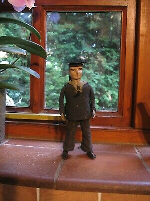 Lehmann Dancing Sailor Antique Wind Up Tin Toy Germany 1910 Tinplate Working  • 485£