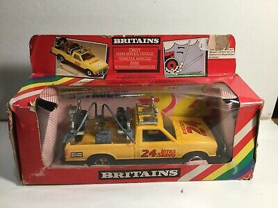 Britains 9573 Chevy Farm Service Vehicle Very Near Mint Within Its Original Box • 39.99£