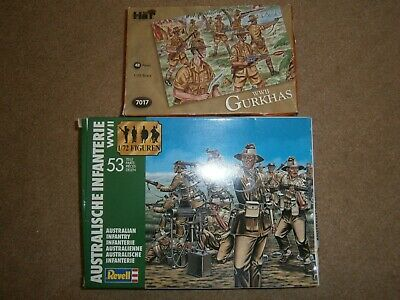 Lot 50: Revell / HaT 1:72 Scale WW2 Commonwealth Soldiers - Mixed Wargaming • 2.99£