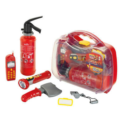 Theo Klein Firefighter Henry Play Set With Toy Mobile Phone Red 3 Years+ • 21.98£
