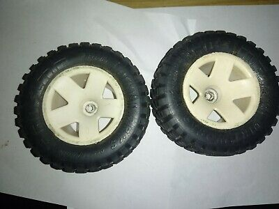 Proline Rc Dirtworks Tyres Mounted On White Wheels 12mm Hex • 12.50£
