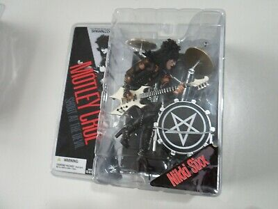 Motley Crue Nikki Sixx McFarlane Spawn Shout At The Devil Unopened NEW FIGURE SU • 119.99£