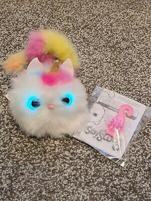 Pomsies - Luna The Unicorn Plush Interactive Toys Used Excellent Condition  • 7.99£