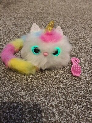 Pomsies - Luna The Unicorn Plush Interactive Toys Used Excellent Condition  • 9.99£