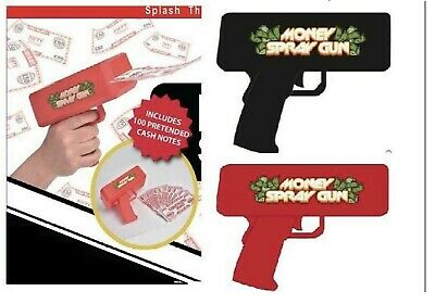 Money Launch Gun Cash Cannon Toy Gift 1000 Dollar Bills Notes Christmas Toys SUP • 8.45£